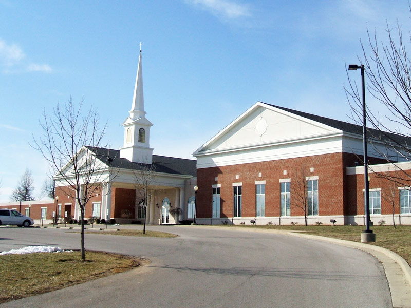 Central Baptist Church, Burchfield and Thomas